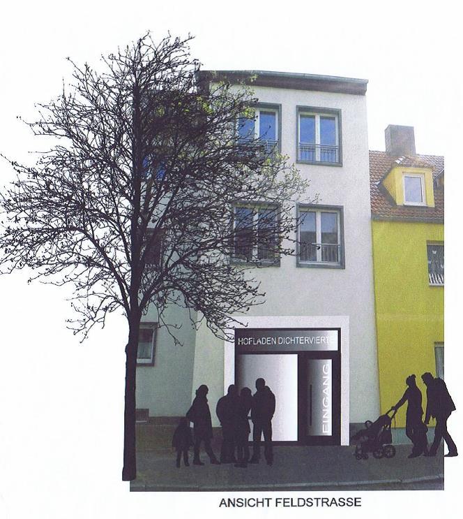 """Neues vom Stadtumbau: """"Hofladen """" im Dichterviertel Bitterfeld kommt!"""